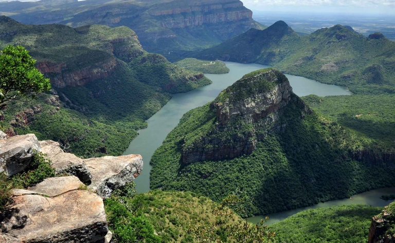Route panoramique du spectaculaire Blyde River Canyon